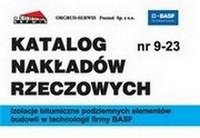 KNR 9-23 Izolacje bitumiczne podziemnych elementów budowli w technologii firmy BASF