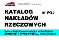 KNR 9-25 Izolacje techniczne instalacji w technologiach Armaflex i Arma-Chek Silver firmy Armacell