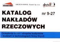 KNR 9-27 Ocieplenia ścian i stropów budynków i budowli w technologiach firmy Dryvit