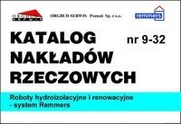 KNR 9-32 Roboty hydroizolacyjne i renowacyjne - system Remmers
