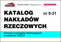 Katalog Nakładów Rzeczowych - KNR 9-31 Izolacja rurociągów instalacyjnych w systemie TECLIT