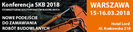 Konferencja Stowarzyszenia Kosztorysantów Budowlanych pt. Nowe podejście do zamawiania robót budowlanych