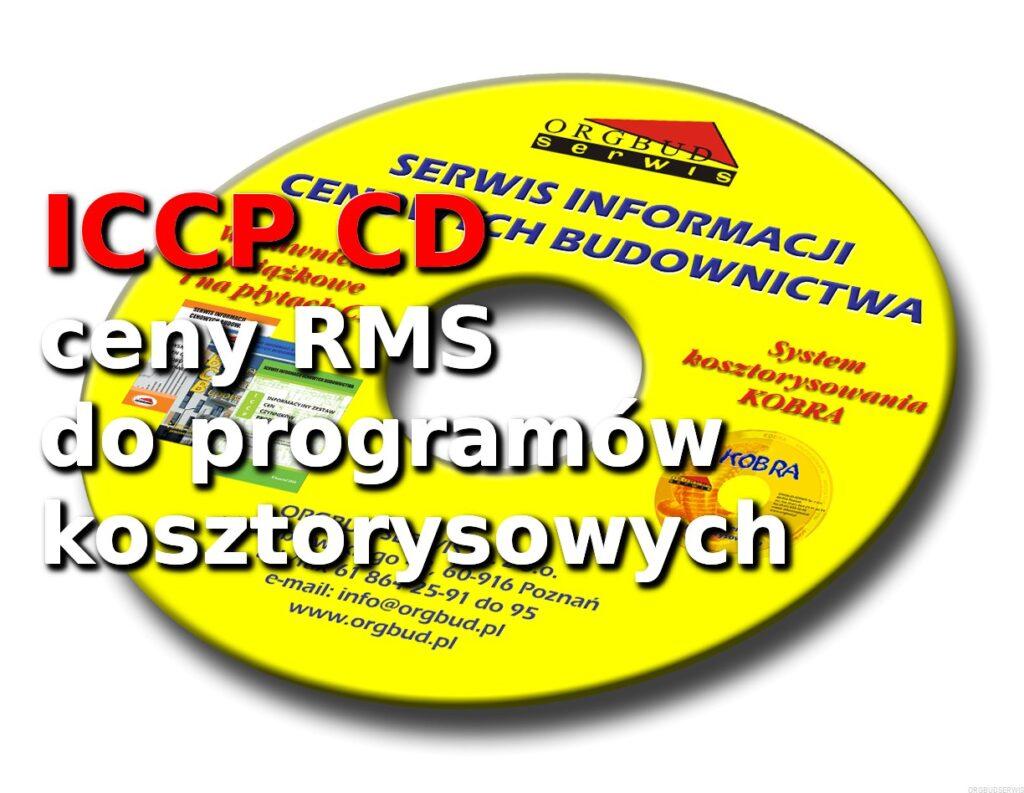 Ceny RMS - ICCP-CD Informacje o cenach RMS 3_2021 Księgarnia techniczna ORGBUD-SERWIS Poznań.html
